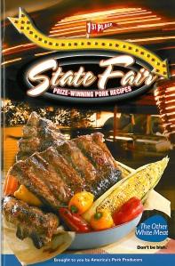 State Fair Recipe Book