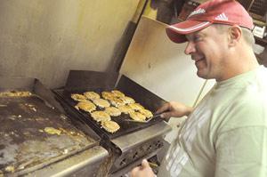 Joe's Place serves pork burger special for National Pork Month