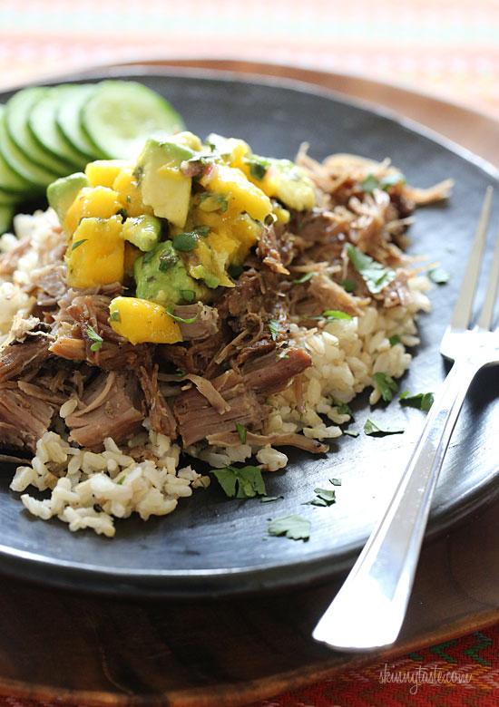 slow-cooker-jerk-pork-with-mango-salsa
